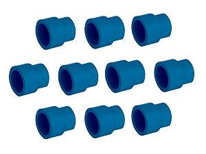 Kit Com 10 Peças-Luva De Redução Ppr Topfusion Para Rede De Ar Comprimido 40X 25Mm