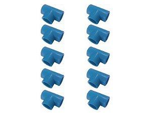 Kit Com 10 Peças-Te Redução Ppr Rede De Ar Comprimido 25mm X 20mm Topfusion
