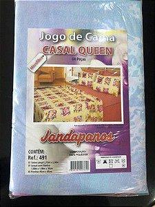 Jogo de cama casal queen microfibra