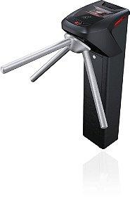 Catraca iD Block Preta Proximidade 13,56 MHz + Biometria