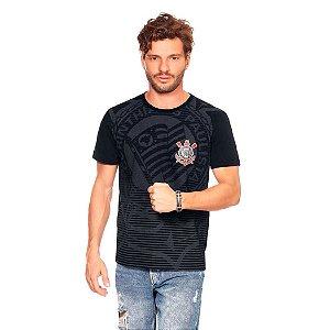 Camiseta Corinthians Casual Masculina Oficial Promoção