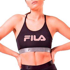 Top Fila Train Elastic Fitness Academia