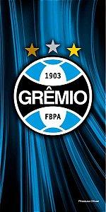 Toalha de praia Buettner aveludado Algodão Grêmio Oficial