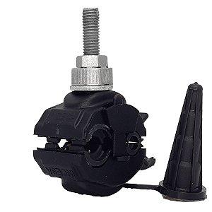 kit 05 peças Conector Derivação Perfurante Isolado 16x120 -4x35 Piercing - Incesa