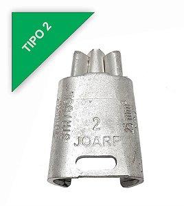 kit 100 peças Conector Tipo Cunha para Ramais de Ligação - Tipo 2