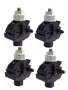 kit 50 peças CDP 70 Conector Derivação Piercing Perfurante - Intelli