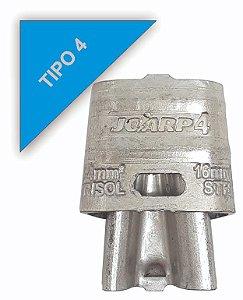 kit 20 peças Conector Tipo Cunha para Ramais de Ligação - Tipo 4