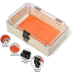 Caixa para Medidor Bifásico e Trifásico ou  Multiuso em PVC com Dobradiça e Fecho