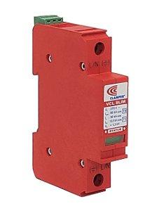 DPS 60 kA com SR Protetor Surto E Raio Clamper VCL Slim - 275v