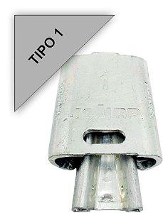 Kit 10 peças Conector Tipo Cunha para Ramais de Ligação - Tipo 1