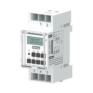 Timer Temporizador Digital 220V Trilho DIN