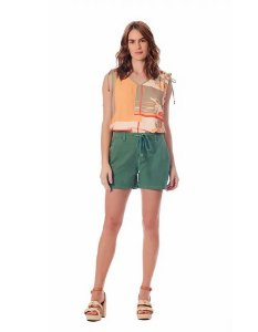 SHORTS CONFORT COLOR VERDE