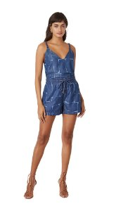 Blusa Decote V Alca Basica Jeans