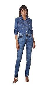 Camisa Manga Longa Basica Jeans
