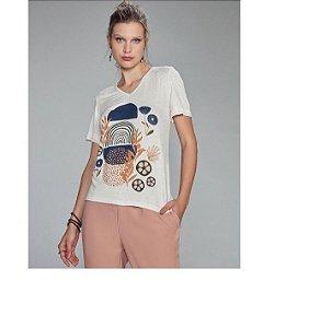 T-Shirt Scalon De Malha