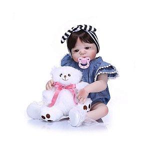 Bebê Reborn Muito Linda e Delicada - Frete Grátis