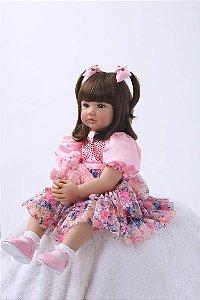 Reborn Criança Princesa - Frete Grátis