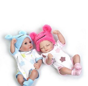 Mini Bebês Reborns - Frete grátis