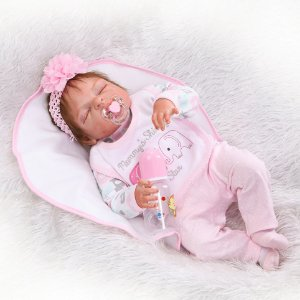 Bebê Reborn Recém Nascido Linda- Frete Grátis