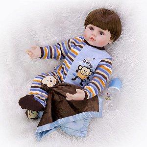 Bebe Reborn Menino - Frete Gratis
