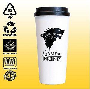 Copo Eco Bucks - Game Of Thrones - House Stark