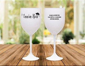Taças de Vinho 400 ML Personalizada (01Unidade)