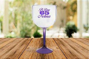 Taça de Gin 570ml - Bi Color Personalizada (01 Unidade)