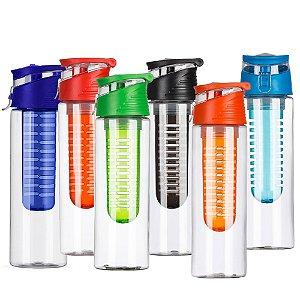 Squeeze Plástico 700ml com Infusor (20 Unidades) - 13764B