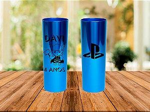 Copos Long Drink 350ml Metalizado - Personalizado (60 Unidades)