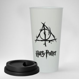 Copo ECO Bucks Personalizado - Harry Potter - Reliquias da Morte