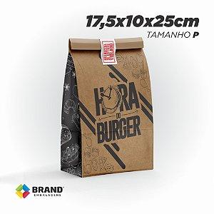 Saco Kraft Delivery - Tamanho P | 500unid.