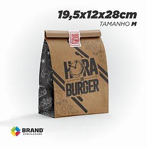 Saco Kraft Delivery - Tamanho M | 500unid.