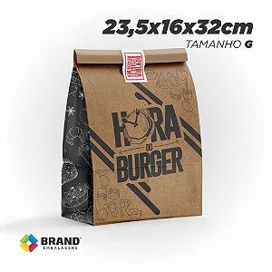 Saco Kraft Delivery - Tamanho G | 500unid.