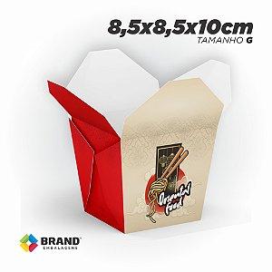 Box Comida Oriental - Tamanho G (800ml) | 100unid.