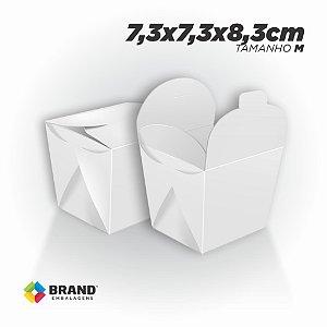 Box Comida Oriental Lisa - Tamanho M (500ml) | 100unid.