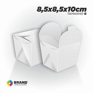 Box Comida Oriental Lisa - Tamanho G (800ml) | 100unid.