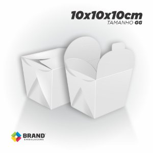 Box Comida Oriental - Tamanho GG (1000ml) | 100unid.
