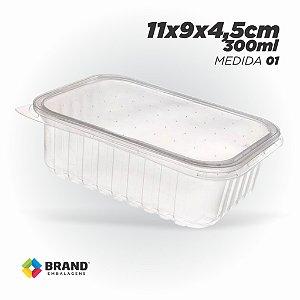 Pote Plastico - Freezer e Microondas 300ml | 24 Unid.