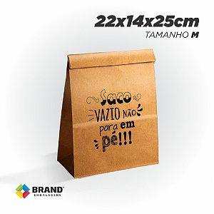 Saco Kraft Delivery - Tamanho M | 200unid.