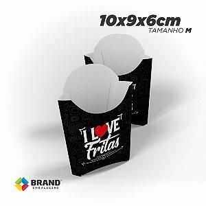 Caixa para Batata Frita - Tamanho M | 100 Unid.