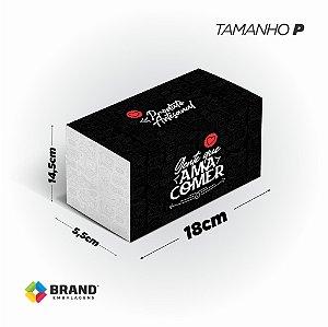 Box Food Padrão  - Tamanho P | 100 Unid.