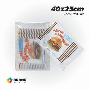 Saco PP - Produtos da Casa 40x25 | 1000 unid.