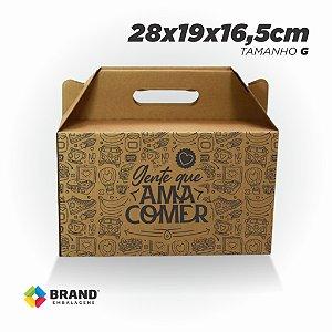 Caixa para Transporte de Alimentos  - 27x27 | 50 Unid.