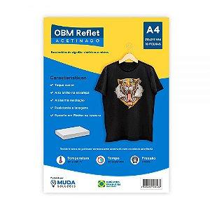 OBM Acetinado A4 com 10 fls - Reflet Power