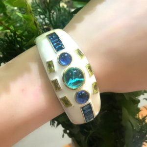 Bracelete esmaltado
