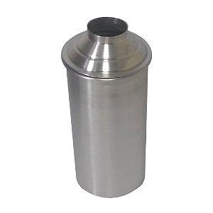 Porta Cerveja de garrafa 600 ml com dupla camada de aluminio isolante interno