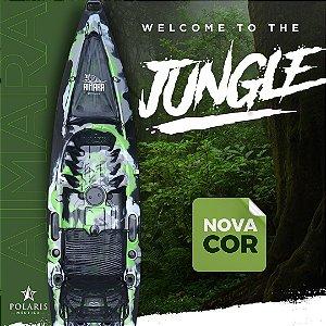 "Caiaque Polaris Aimara Pro - Nova Cor ""Jungle"""