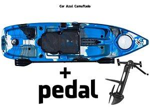 Caiaque Milha Náutica Leader Com Pedal Power Drive System