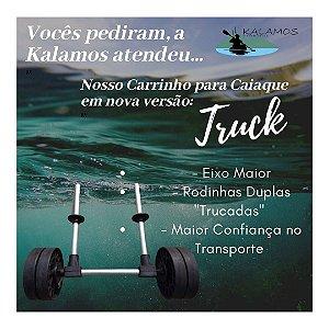 """""""Truck"""" - Carrinho Universal Para Transporte de Caiaques em Alumínio Kalamos"""