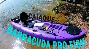 Caiaque Barracuda Pro Fish com Assento, cor Roxa